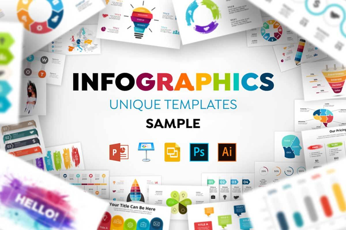 1600 Infographic Templates Sample