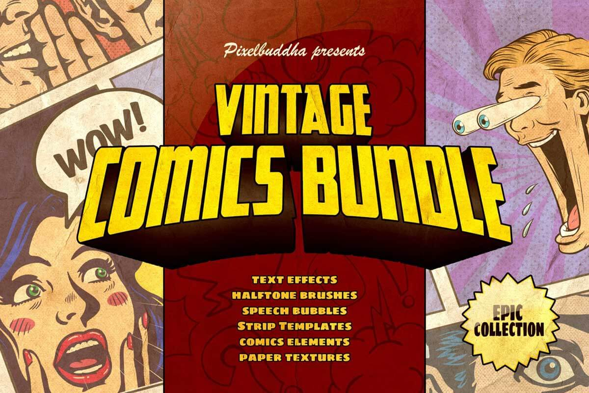 Marvelous Vintage Comics Collection