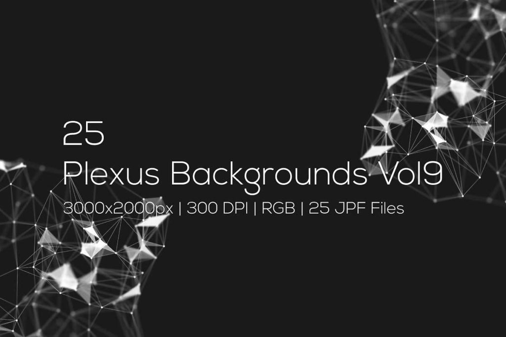 Plexus Backgrounds Vol9