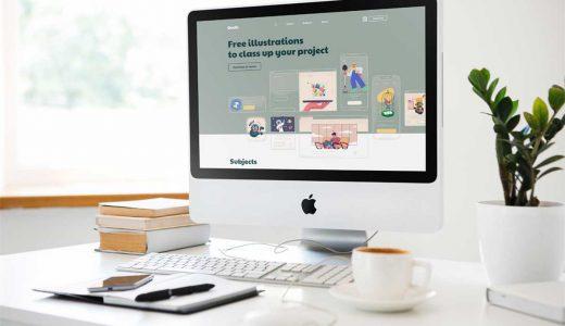 高クオリティのイラストがすべて無料で使えるサイト「Ouch!」【SNSやブログ・Webデザインに】