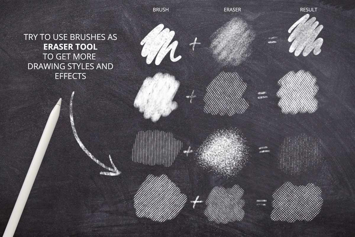 Procreate Chalk Lettering Brushes