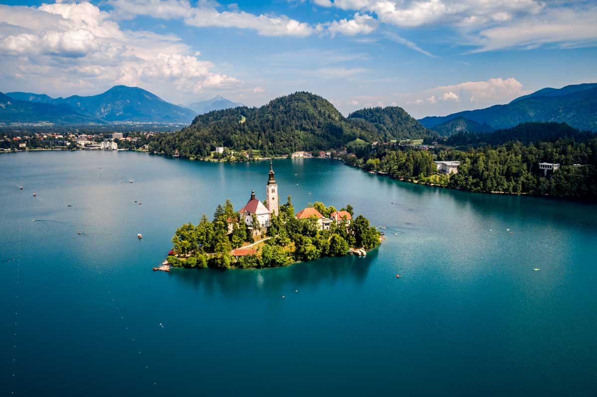 スロベニアのリゾート