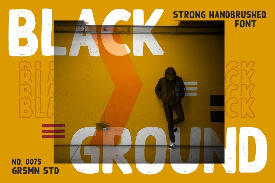 BLACK GROUND
