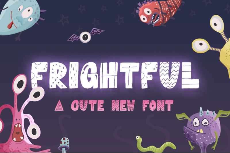 FLASH FREEBIE – Frightful Font