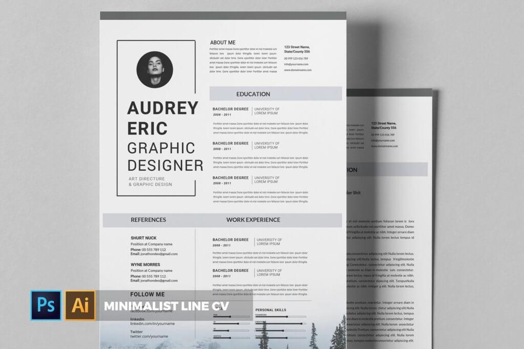 Minimalist Line | CV & Resume