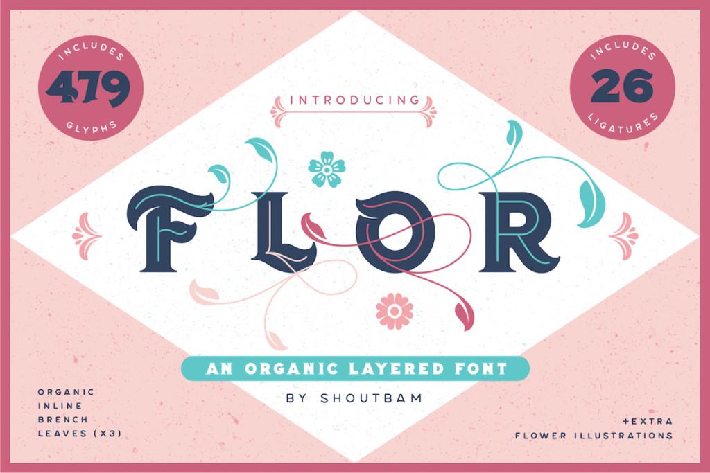 Flor Font