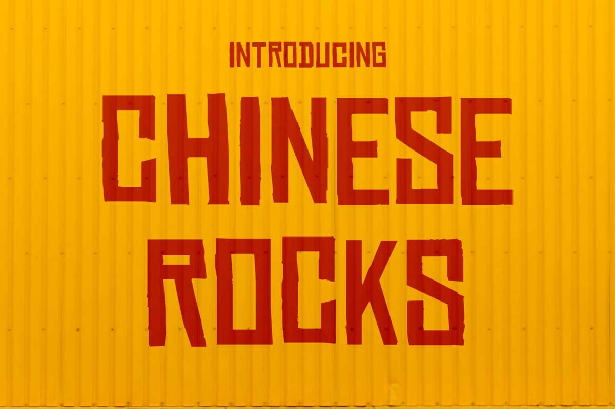 Chinese Rocks
