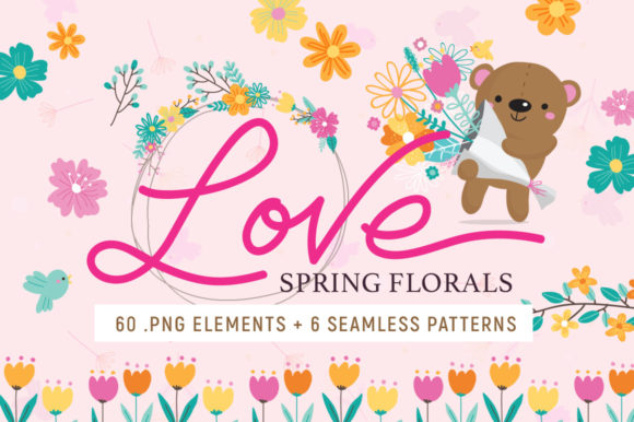 Love Spring Florals