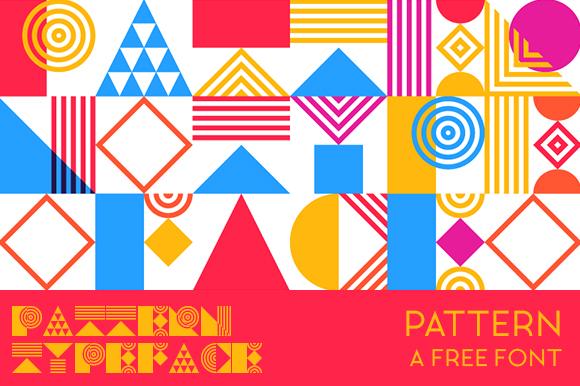 Pattern Font