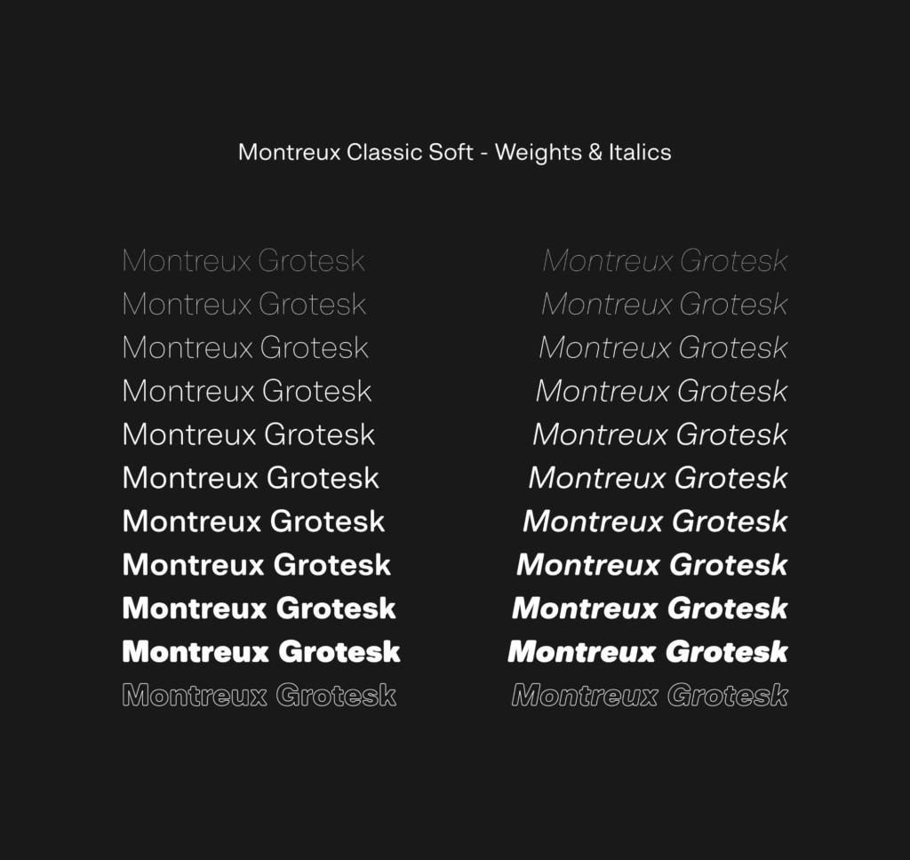 MONTREUX GROTESK