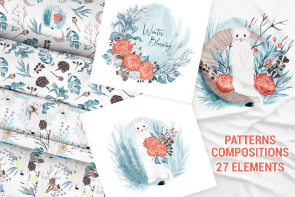 Winter Nature Pack Patterns Compositions