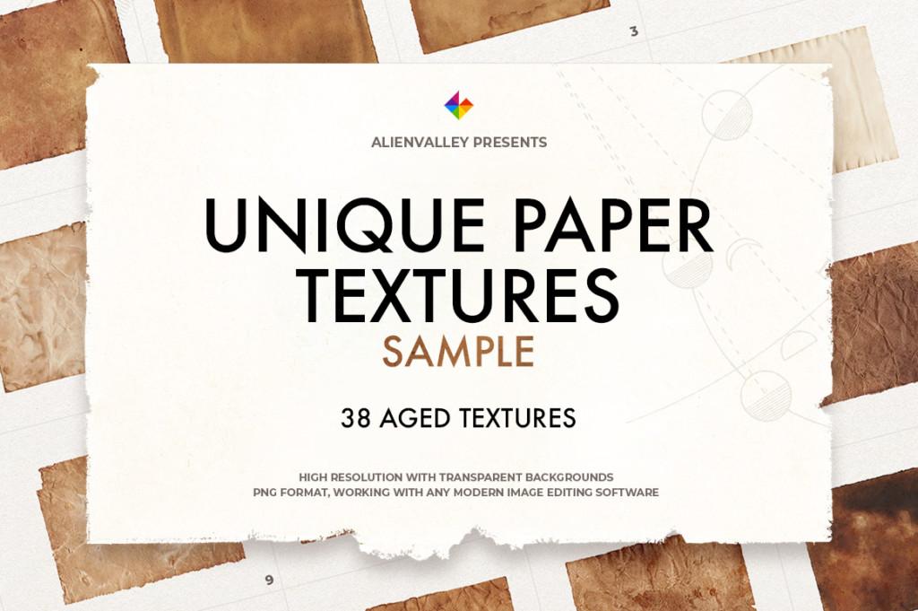 Unique Paper Textures Sample