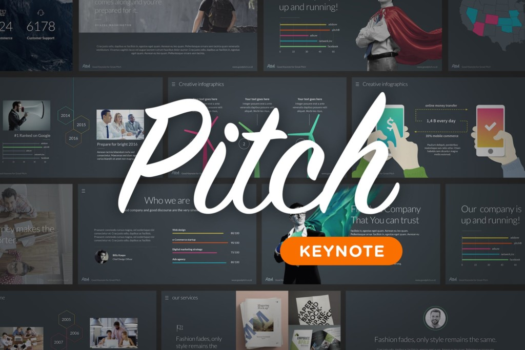 Pitch - Keynote Template
