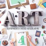 Art Equipment Scene Generator V4