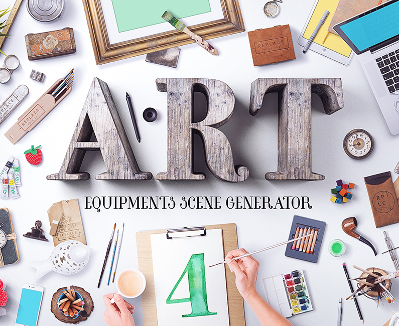 Art Equipment Scene Generator V4