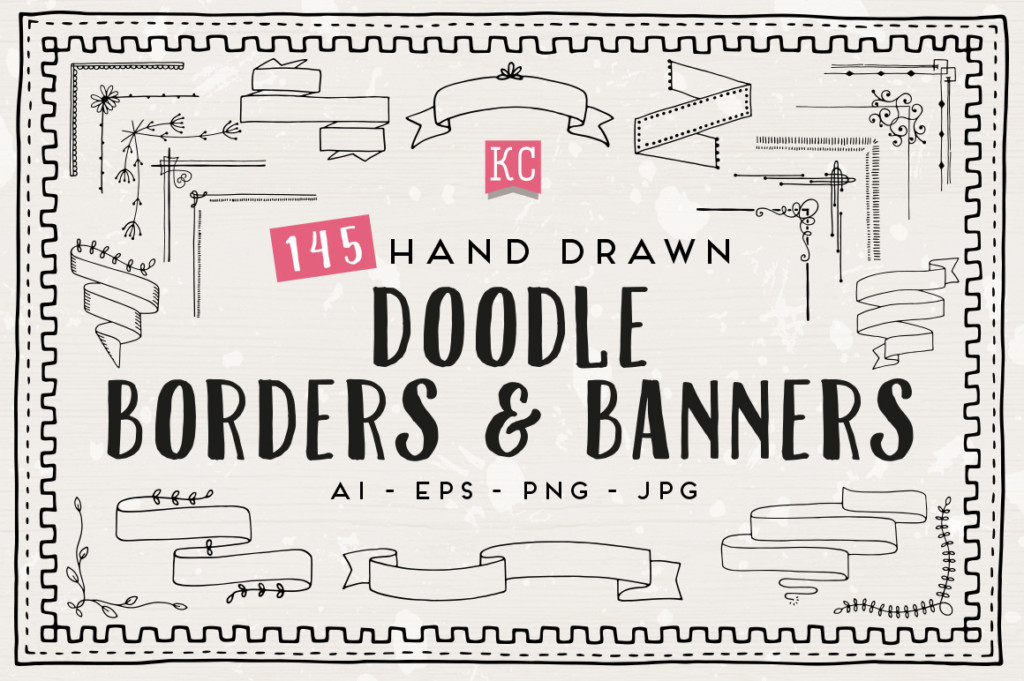 Doodle Borders And Banners