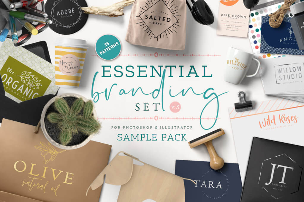Essential Branding Set Volume 3 Sample