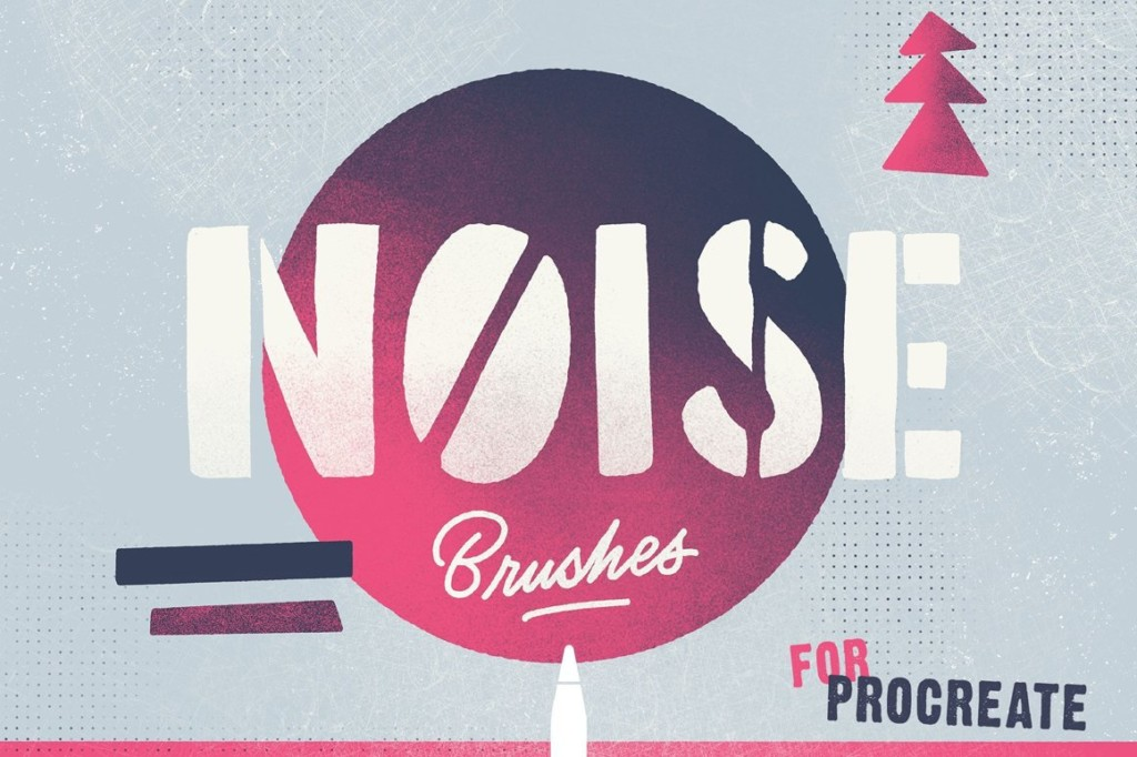 Procreate Noise Brushes