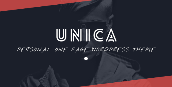 Unica - Personal Resume and Portfolio Theme