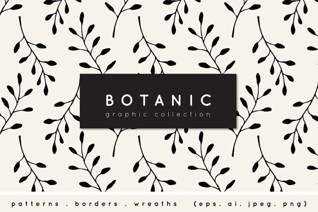 Botanic Graphic Collection
