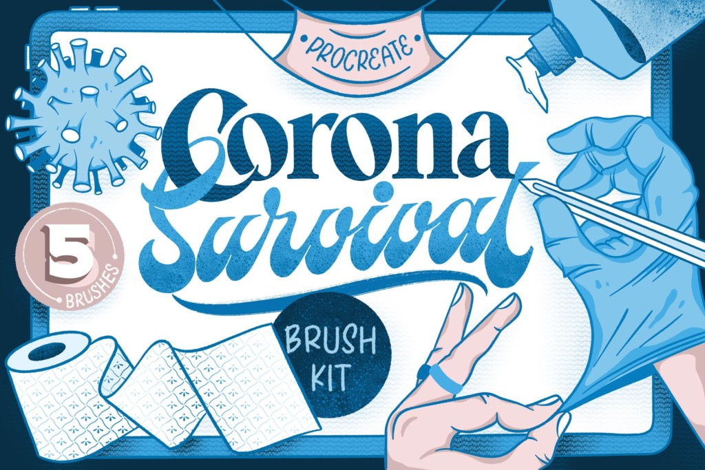 Corona Survival Brush Kit