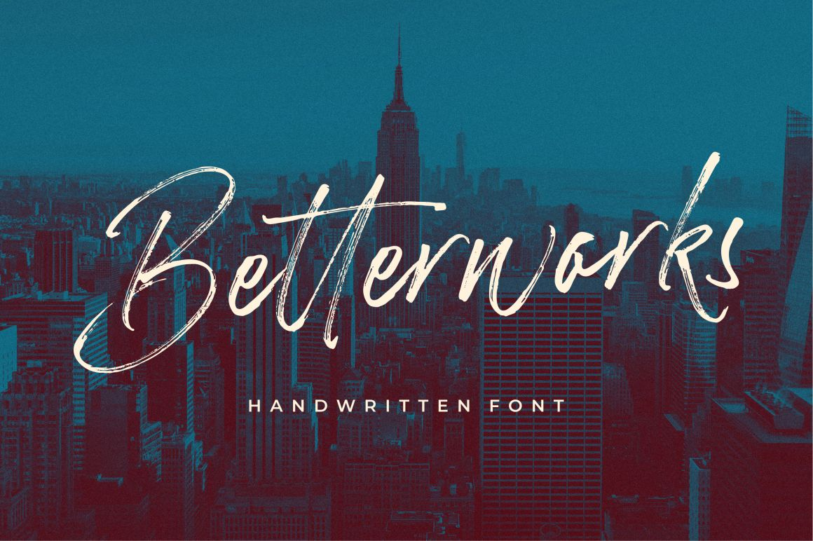 Betterworks Font