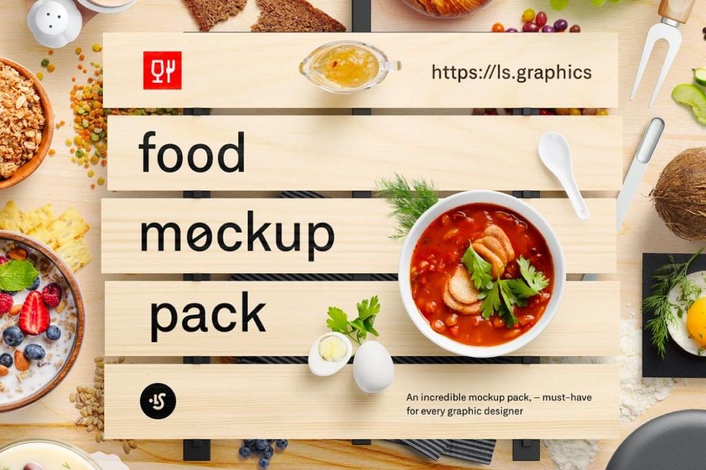 FOOD MOCKUPS PACK