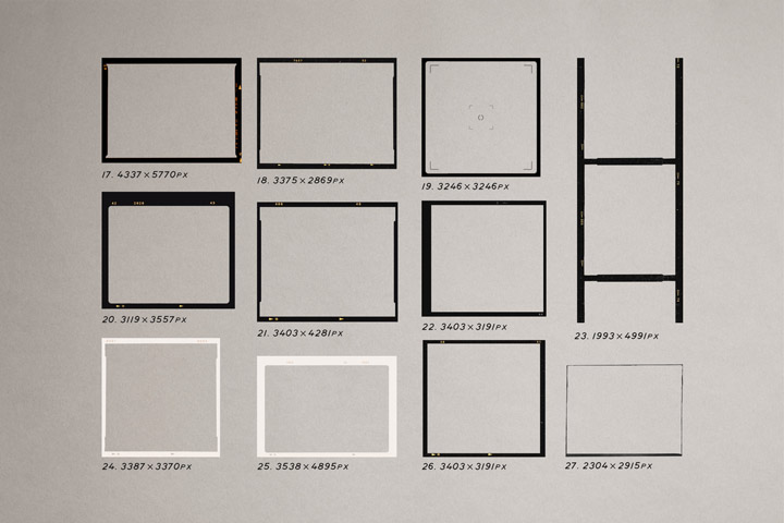 HIGH QUALITY FILM FRAMES KIT