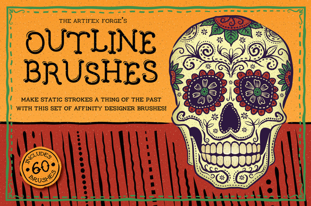 FREE: Outline Brushes – Affinity Designer