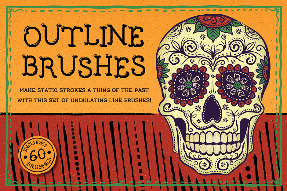 FREE: Outline Brushes
