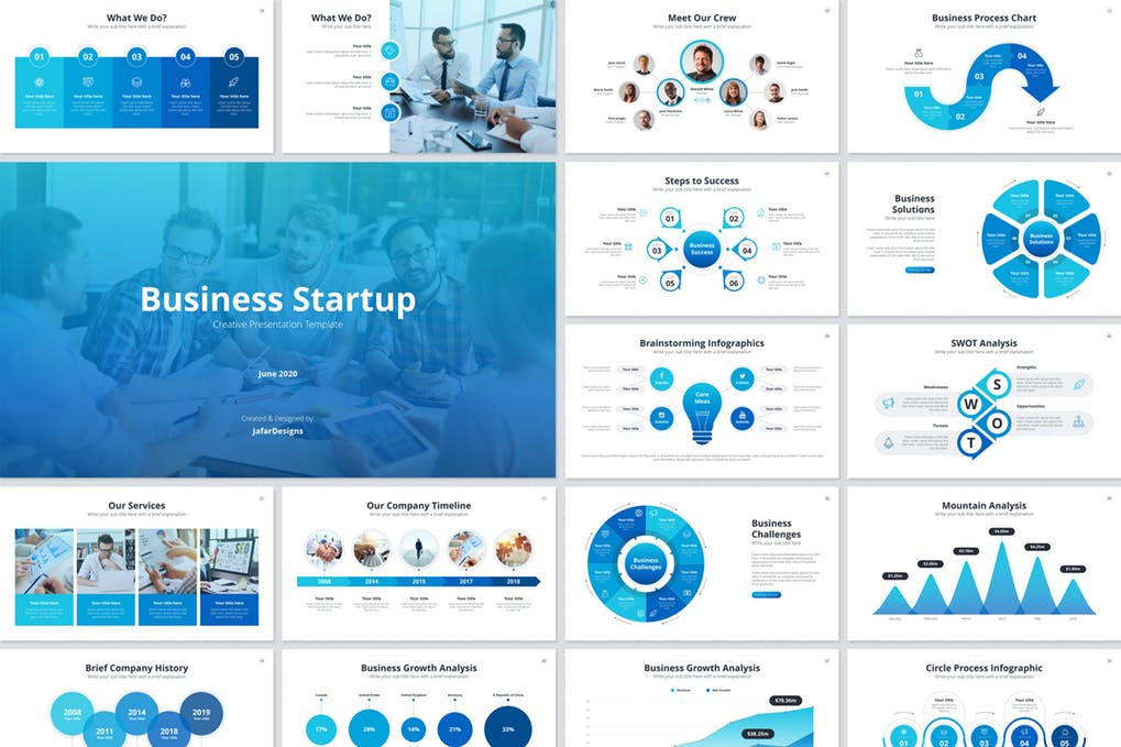Business Startup PowerPoint Template