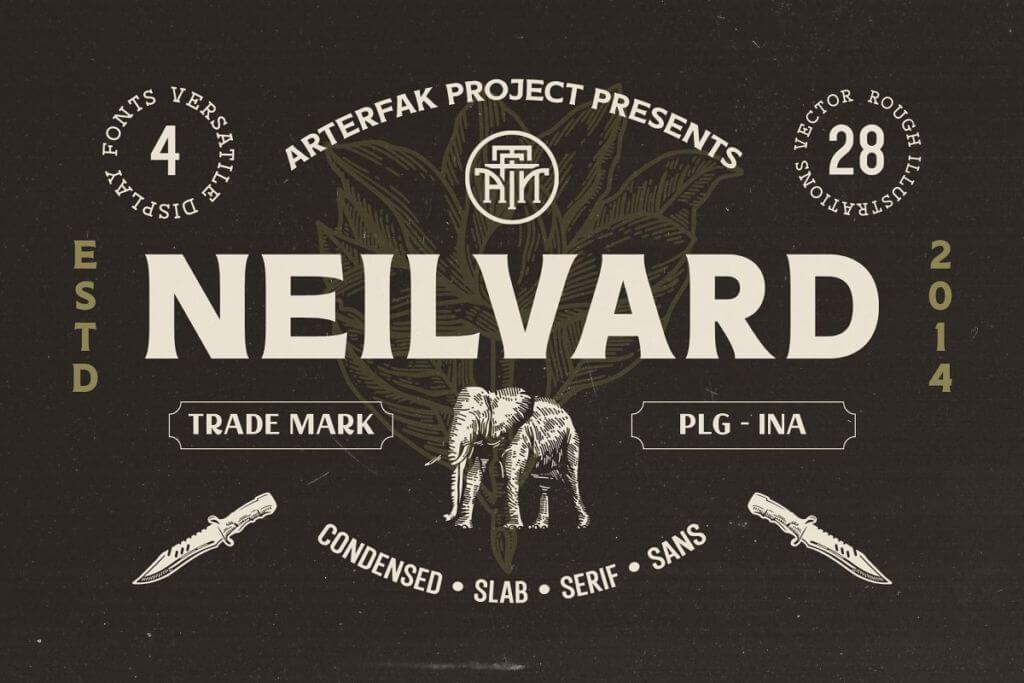 Neilvard - Font Set