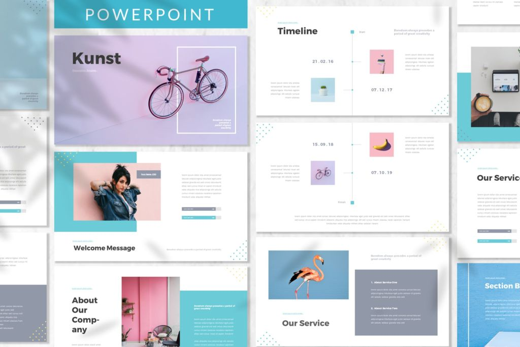 Kunst - Business Powerpoint Template