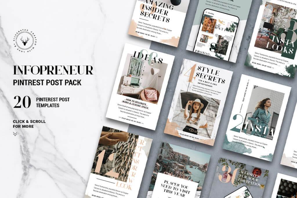 Infopreneur – Pinterest Posts Pack