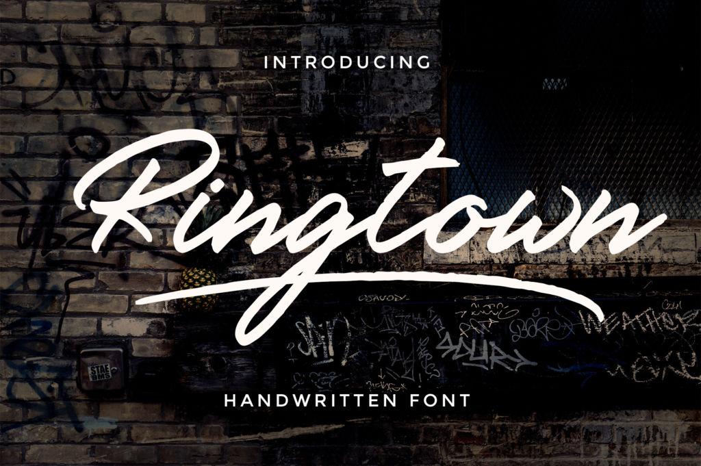 Ringtown Font Duo + Alternates