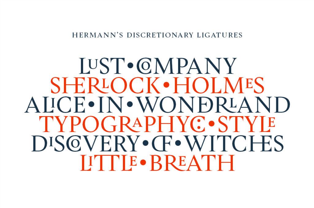 HERMANN TYPEFACE