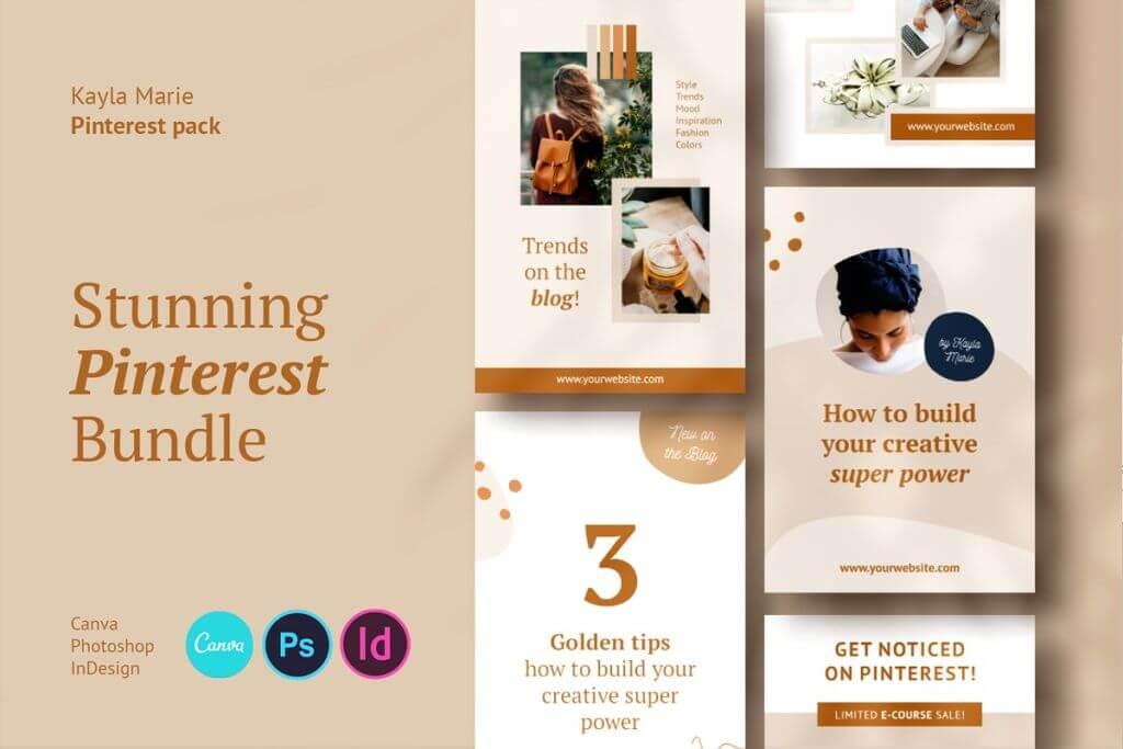 Pinterest Pack / Kayla