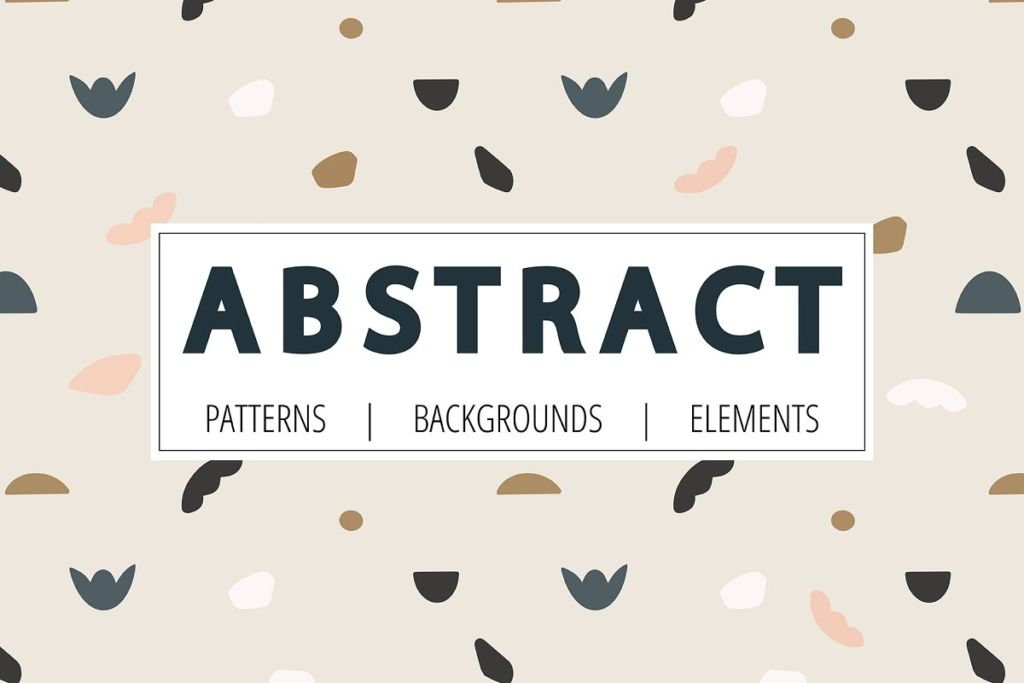 Abstract. Patterns and backgrounds