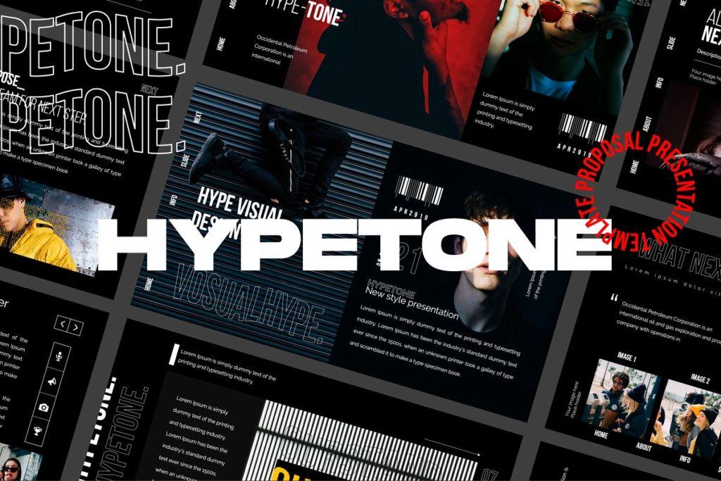 HYPETONE = Keynote