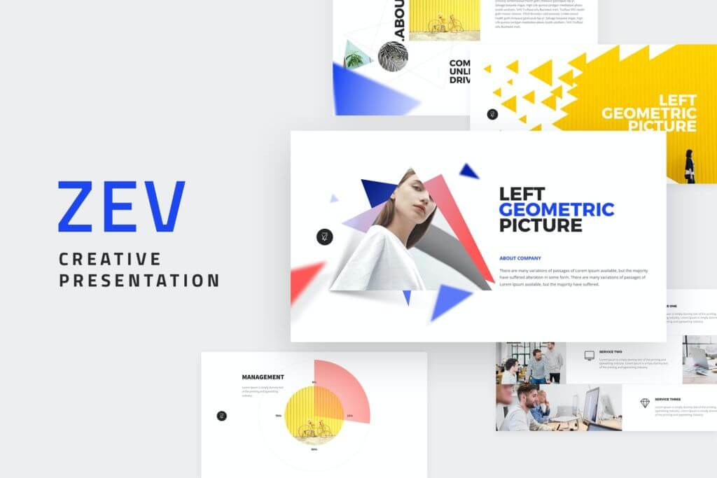 ZEV - Powerpoint Template