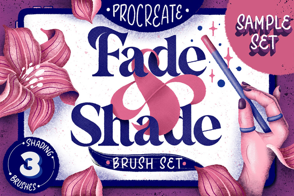 Fade & Shade Procreate Brush Set