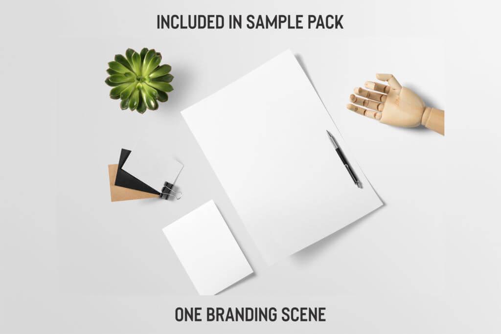 Free: Pre-Made Branding Scene