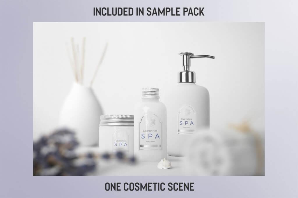 Free: Pre-Made Cosmetic Scene