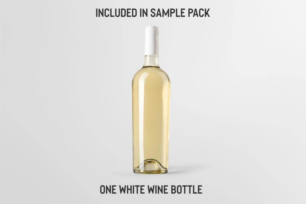 Free: Wine Bottle Mockup