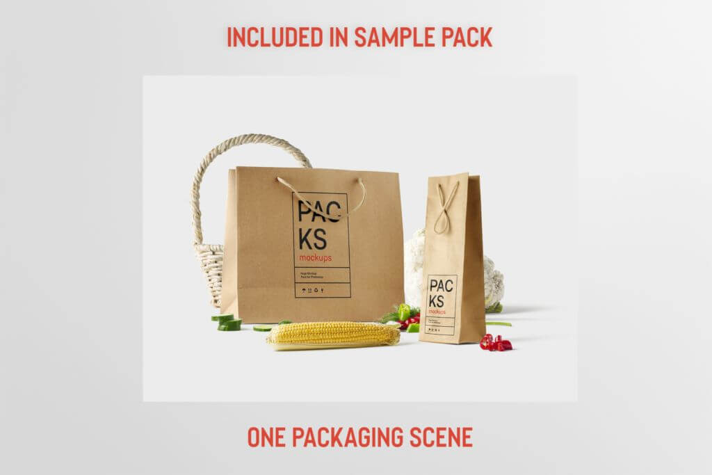 Free: Packaging Scene Mockup