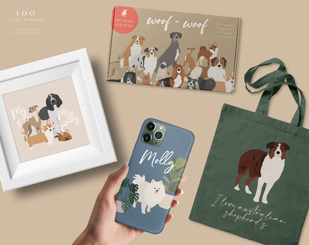 HER PORTRAIT ROOM CHARACTER CREATOR – DOGS AND CATS COLLECTION