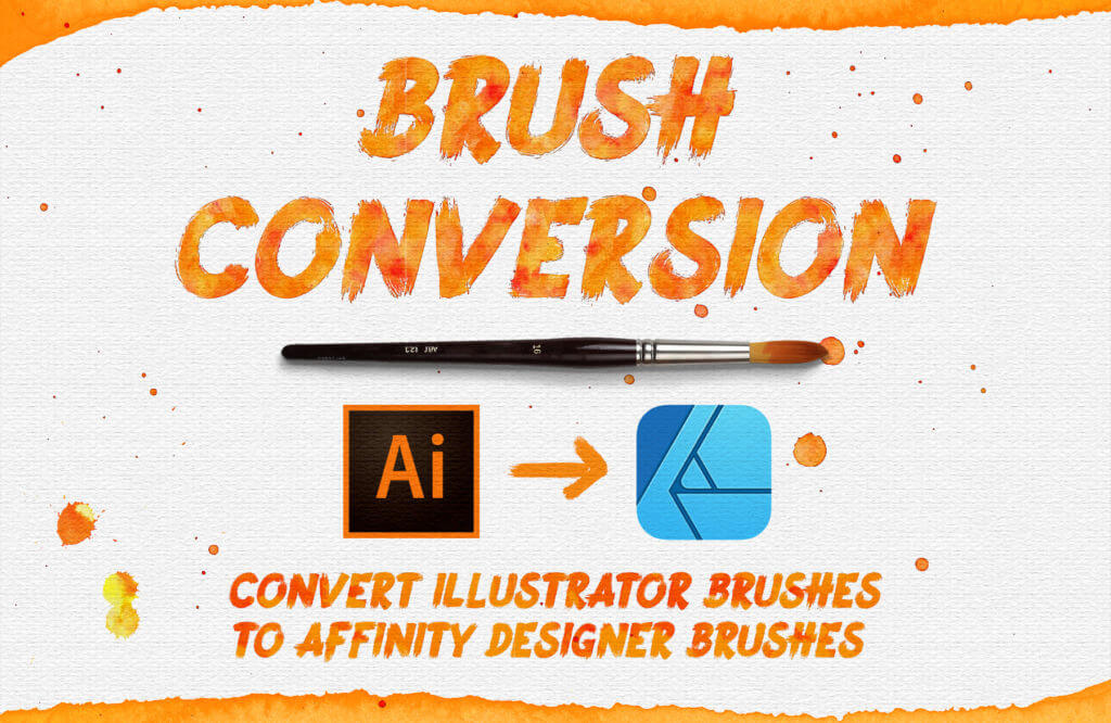 How to convert Adobe Illustrator Brushes to Affinity Designer Brushes