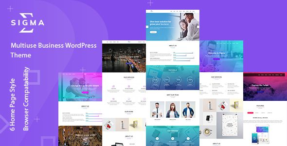 Sigma - Multipurpose WordPress Theme