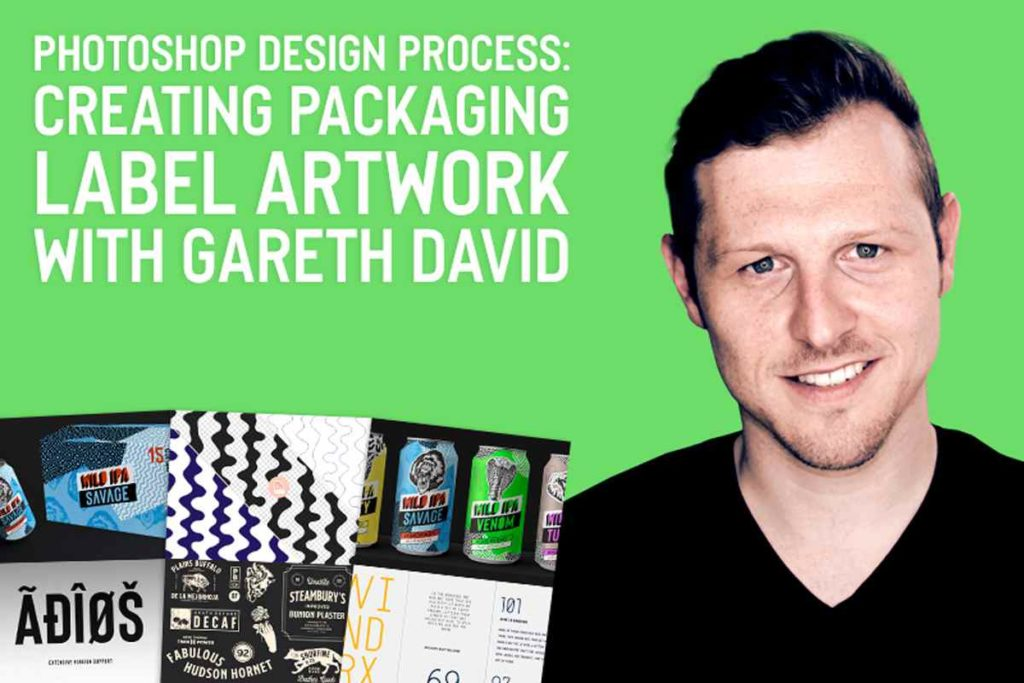 PHOTOSHOP DESIGN PROCESS: CREATING PACKAGING LABEL ARTWORK
