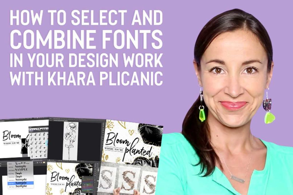 How To Select And Combine Fonts In Your Design Work